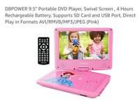 "DB Power ""Portable"" DVD Player"