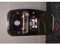 Stainless Steel Single Sink ID 113/12/17