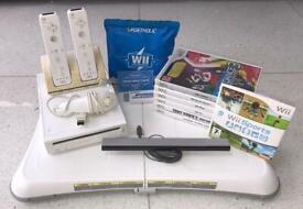 Nintendo Wii + extras