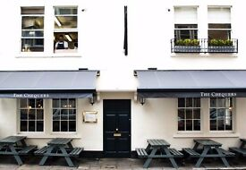 Full Time KITCHEN PORTER The Chequers, Bath - £23,000 package + benefits