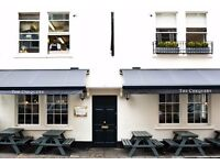Full Time KITCHEN PORTER The Chequers, Bath