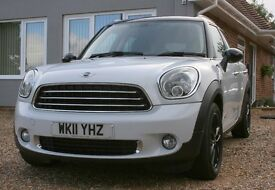 """Mini countyman cooper D All4 with full leather,sat nav, 17"""" alloys,media pack, cruise control"""