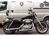 DEPOSIT RECEIVED LOVELY 2013 HARLEY DAVIDSON XL883L SUPERLOW MANY EXTRAS 2 OWNERS