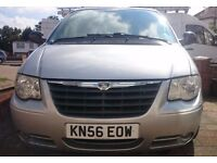 Chrysler Grand Voyager 2006 Silver Automatic 2.8 Diesel £1650