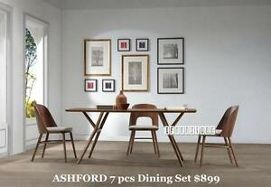 iFurniture-Solid wood Dining Set Starts From $265