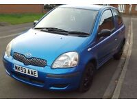 Toyota Yaris 1.0 VVT-i T3 ( 2 LADY OWNERS FROM NEW) £920 ovno