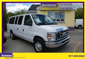2014 Ford Club Wagon E-350 EXT 15 PASSCHROME AND TOWING PKG