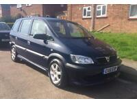 **GREAT 2001 VAUXHALL ZAFIRA, ( IRMSCHER KIT ) 1.6 MANUAL, 10m MOT, 72k WITH FSH**
