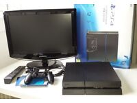 Slim PS4 1TB Ultimate Player Edition plus Samsung LCD HD TV