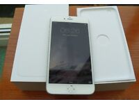 iPhone 6 Plus 16gb white pristine condition... oh forgot to say it's unlocked to any network
