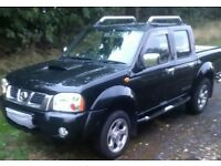 Nissan Navara crew cab may take px long mot full service history very clean truck drives like new
