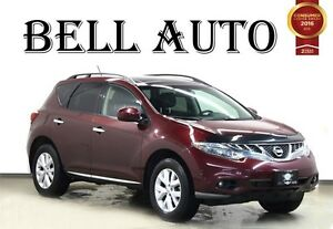 2012 Nissan Murano SL AWD BLUETOOTH CONNECTIVITY BACK-UP CAMERA