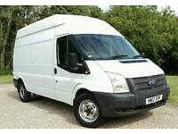 FORD TRANSIT LWB HR 2012 -- NO VAT -- FULL SERVICE HISTORY LIKE MERCEDES SPRINTER IVECO DAILY