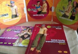 Zumba dvd and guide book