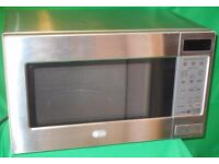 STAINLESS STEEL MICROWAVE LG INTELLOWAVE