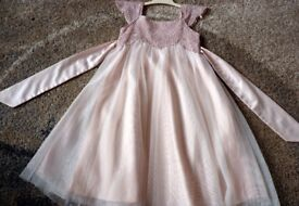 Monsoon ESTELLA SPARKLE DRESS age 4