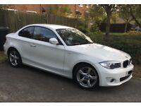 BMW 1 series coupe, 61 plate, £30 tax, very economical