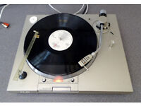 SONY PS-T1 DIRECT DRIVE TURNTABLE & CARTRIDGE WITH STROBE