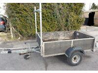 Galvanised 6x4 braked trailer