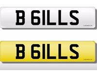 PRIVATE NUMBER PLATE FOR SALE- B 61LLS