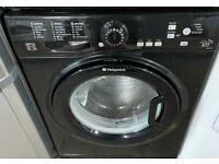 Hotpoint black edition timer display fully functional washing machine