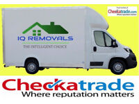 LOWEST COST Home Removals, Man & Van, Deliveries, Office removals. CHECKATRADE MEMBER 10/10 score!