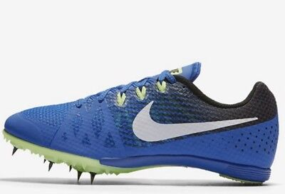 buy popular 030cb f7653 NEW NIKE Zoom Rival M 8 Track Field Running Shoes Spikes Cobalt Blue US 11.5