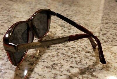 *SALE* Authentic Gucci Sunglasses GG 9097/J 962 | Red & Carbon/Silver | (Gucci Shades Sale)
