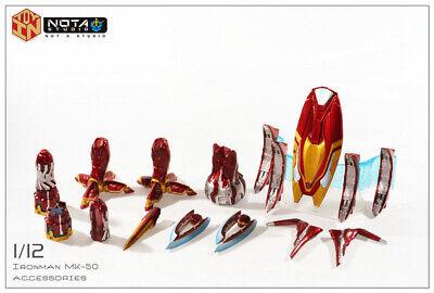 Pre-order Nota Studio IN TOY 1/12 Scale Iron Man Mark 50 Armor kit sets