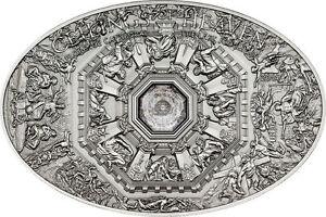 NANO LAST JUDGMENT Florence Ceilings of Heaven Silver Coin 5$ Cook Islands 2014 - Italia - NANO LAST JUDGMENT Florence Ceilings of Heaven Silver Coin 5$ Cook Islands 2014 - Italia