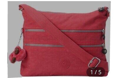 Kipling cross body bag new with tags alvar Papaya Orange