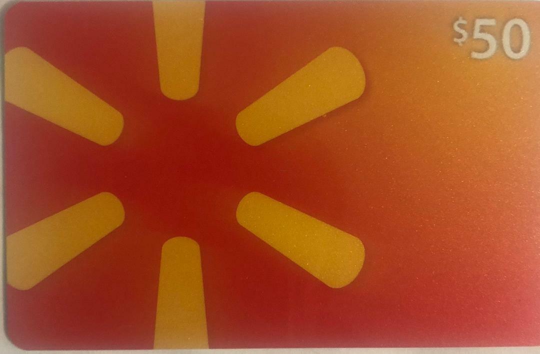 New 50 Walmart Gift Card X 4 200 - $200.00
