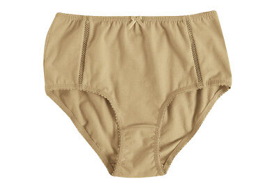 Hering Womens HIgh Cut Brief Pantys 777W - Nude, Small - Nude High Cut Brief
