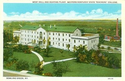 Bowling Green Ky West Hall   Heating Plant Western Kentucky State Teachers Coll
