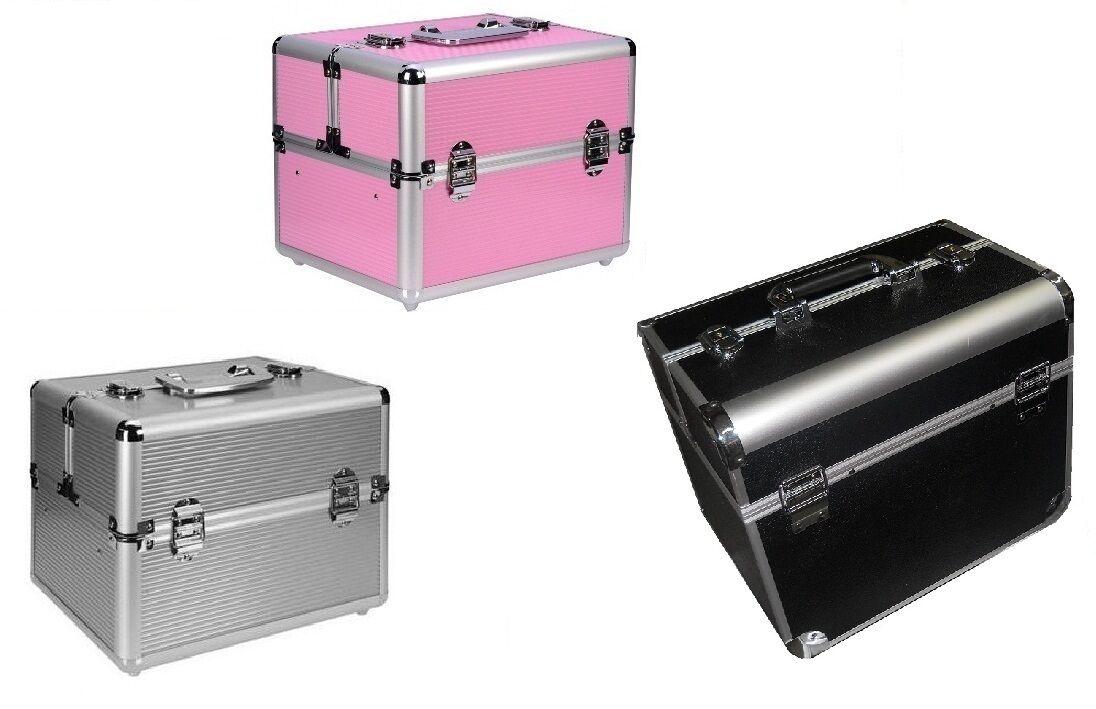 Valigetta Make Up Beauty Case Trolley Nail Valigia Porta Trucco Cofanetto grande