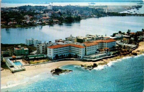 Postcard Condado Beach Hotel San Juan Puerto Rico USA The Enchanted Island