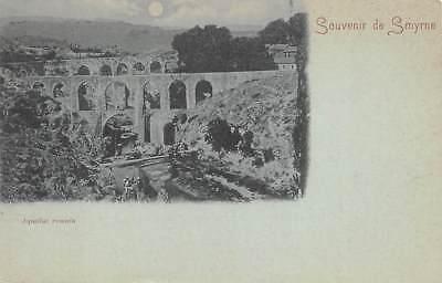 Smyrna   Izmir  Turkey   Roman Aqueduct Over The Meles River   C  1902