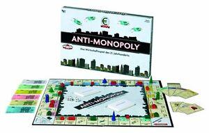 NEU/OVP Anti Monopoly Gesellschaftsspiel Party Brettspiel Familie Kinder  08509