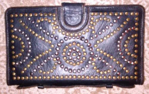 Cleobella Studded Leather Clutch Wallet