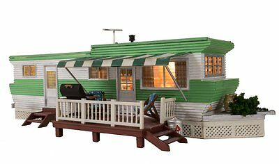Woodland Scenics BR5861, O Scale, Built & Ready, Grillin' & Chillin' Trailer