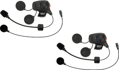 SENA SMH5 Dual Bluetooth Headset/Intercom for Motorcycle Helmets (SMH5D-UNIV)