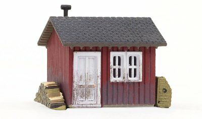 Woodland Scenics BR4947, N Scale, Built & Ready Work Shed, 4947
