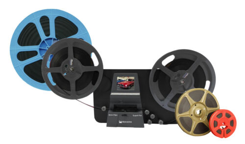 """Wolverine MovieMaker-PRO: Up to 9"""" 8mm and Super 8 Movie Reels to Digital"""