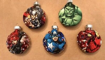 "Handmade ""Avengers"" Christmas Ornament! This Is For 1 Ornament!"