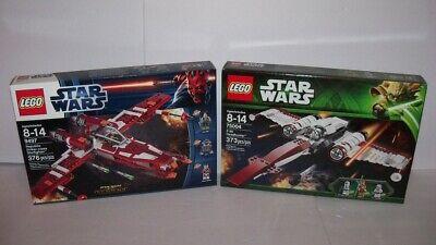 Retired LEGO Star Wars 9497 Republic STRIKER + 75004 Z-95 STARFIGHTER set Lot