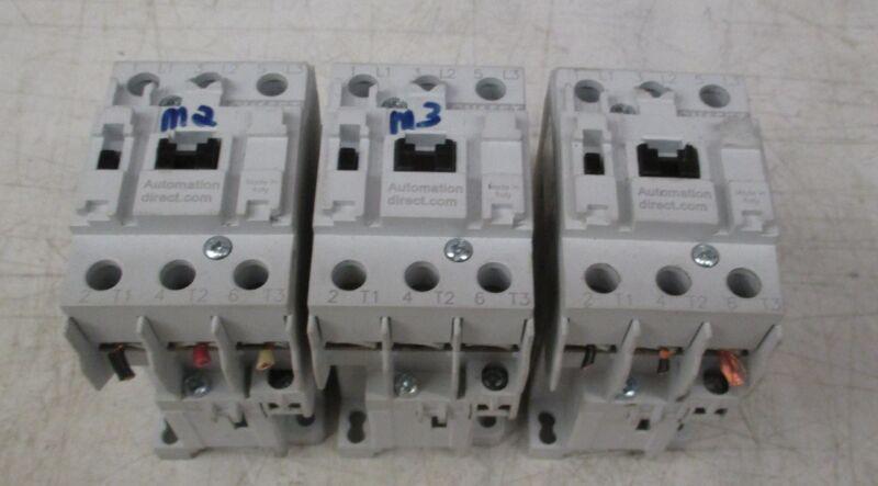 Automation Direct Contactors GH15ET Lot of 3