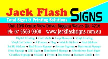 Jack Flash Signs Jack Flash Signs Biggera