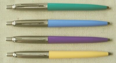 "PARKER JOTTER BALLPEN ""50 YEAR JUBILEE"" 2004 , ONLY THIS 4 COLORES WAS MADE ! !"