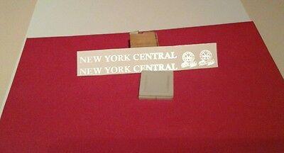 MARX NYC 951 WHITE LETTER WATERSLIDE DECAL TENDER W/MARLINES LOGO 2 P/SET LOOK!