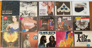 Assortment of CDs Stafford Brisbane North West Preview